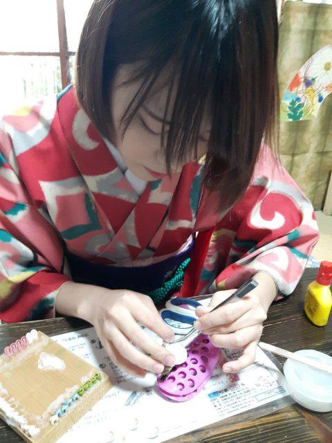 Dekobokoan Tsumamizaiku Workshop photo 1