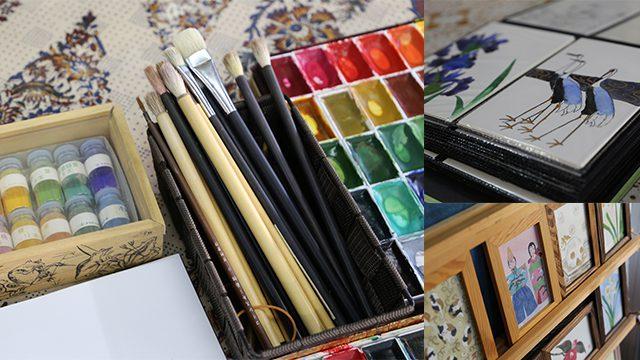 Emaki - Japanese painting experience