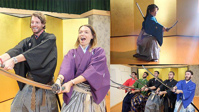 Samurai  Kembu - Traditional swordplay & Performance